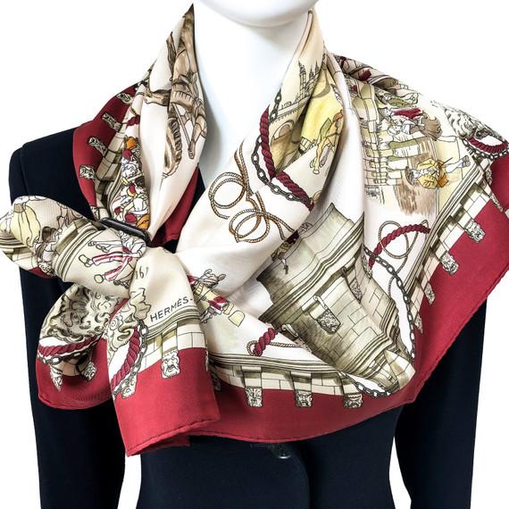 Authenticate hermes to scarf where Hermès Scarves