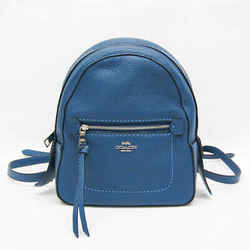 Coach Mini F30530 Women's Leather Backpack Royal Blue BF526616