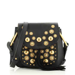 Hudson Handbag Studded Leather Small
