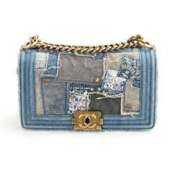 Chanel Denim Patchwork Boy Bag
