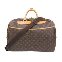 Vintage Authentic Louis Vuitton Brown Monogram Alize 24 Heures France