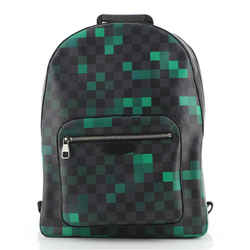 Josh Backpack Limited Edition Damier Graphite Pixel