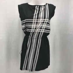 Dries Van Noten Black Sleeveless Dress Small