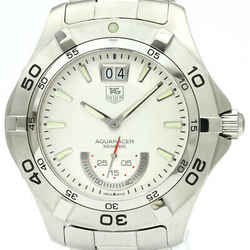 Polished TAG Heuer Aquaracer Grande Date Quartz Mens Watch WAF1011 BF336548