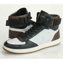 Louis Vuitton Rivoli High Top Sneakers Size 9