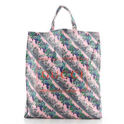 Logo Shopper Tote Printed Coated Cotton Tall