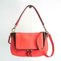 Anya Hindmarch Women's Leather Shoulder Bag,Tote Bag Salmon Pink BF532790
