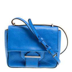 Reed Krakoff Blue Leather Mini Standard Shoulder Bag