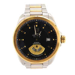 Grand Carrera Calibre 6 Chronometer Automatic Watch Stainless Steel and Yellow Gold 40