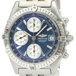 Polished BREITLING Chronomat Steel Automatic Mens Watch A13350 BF516482