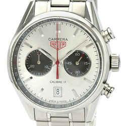TAG HEUER Carrera Chronograph Caliber 17 Jack Heuer Steel Watch CV2119 BF532610
