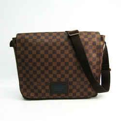 Louis Vuitton Damier Brooklyn GM N51212 Unisex Shoulder Bag Damier Canv BF339298