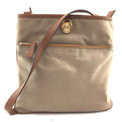 Michael Kors Kempton Beige And Brown Canvas
