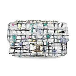 Chanel Mini Grafitti Lambskin Flap Bag