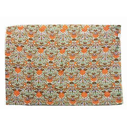 Tory Burch Large 100% Silk Fall Print Scarf