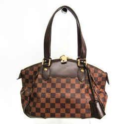 Louis Vuitton Damier Verona PM N41117 Shoulder Bag Ebene BF516279
