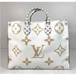 Louis Vuitton Limited Edition Giant Logo Monogram Onthego in Green Color Block