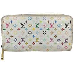 Louis Vuitton White Monogram Multicolor Zippy Wallet 862594a