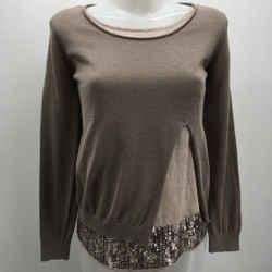 Fabiana Filippi Sequin Sweater Size 8