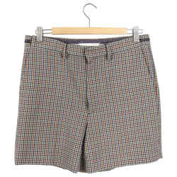 Maison Margiela  Spring 2018 Runway Brown Check Shorts - 38 / 6