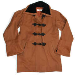 Ysl Yves Saint Laurent Vintage Russian Collection Jacket Coat Tan Us 8 Fr 40