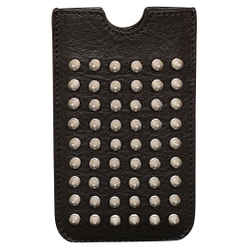 Burberry Brit Rhythm Black Leather Mores Iphone Sleeve
