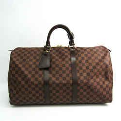 Louis Vuitton Damier Keepall 50 N41427 Boston Bag Ebene BF514962