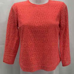 Rebecca Minkoff Coral Lace Blouse Small