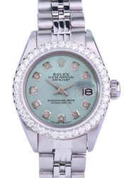Rolex Lady Datejust Steel Diamond Dial Diamond Bezel 26mm 1.40ctw