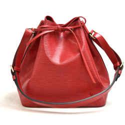 Vintage Louis Vuitton Petit Noe Red Epi Leather Shoulder Bag LU412