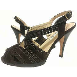 Oscar De La Renta Suede Sandals Brown Size 35