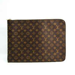 Louis Vuitton Monogram Poche Document M53456 Women's Briefcase Monogram BF517997
