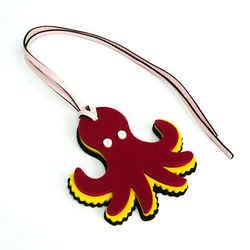 Loewe Bag Charm Paulas Ibiza Octopus Keyring (Multi-color) BF527326