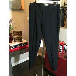 Helmut Lang Size 2 Black Wool Pants 2292-68-111320