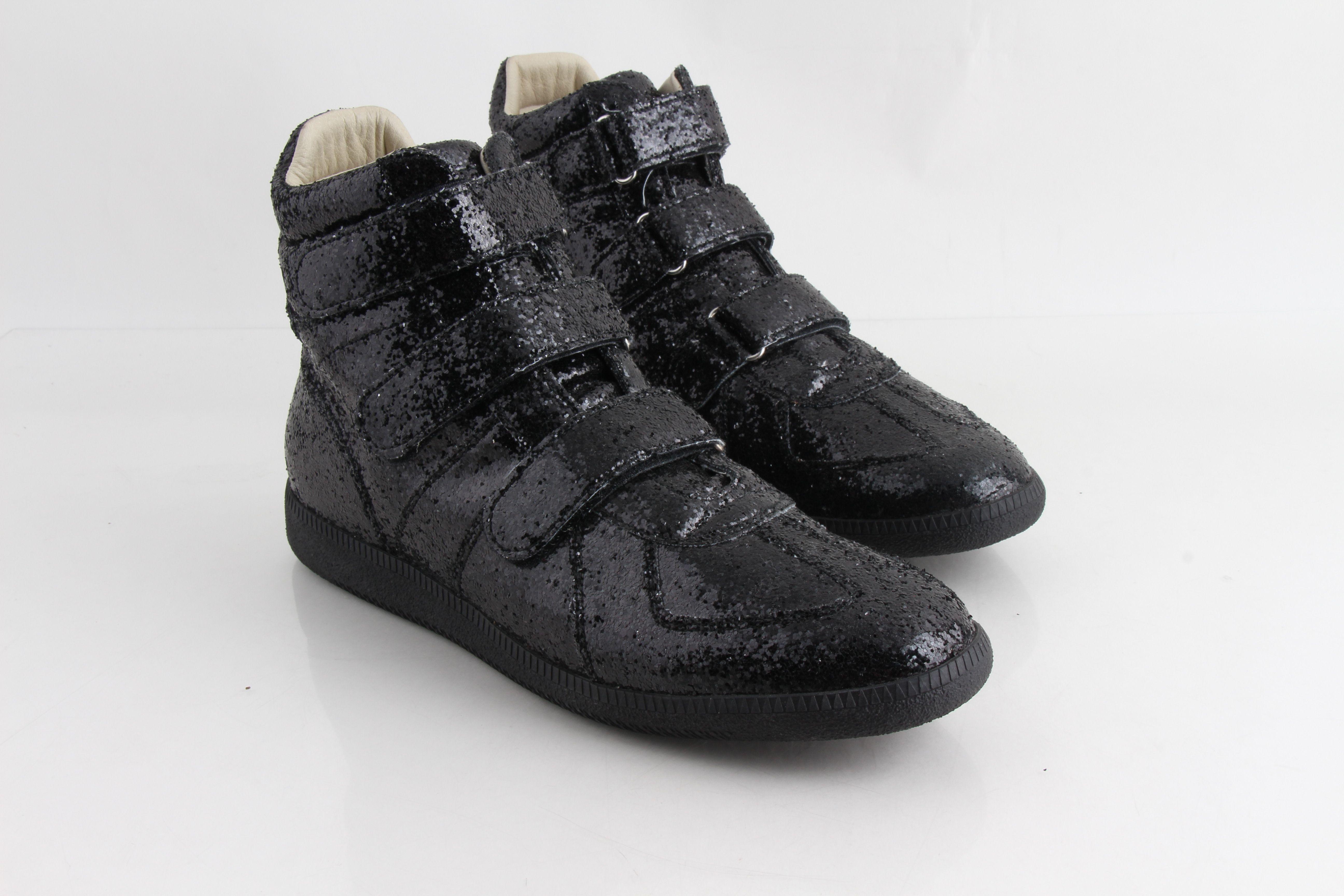maison margiela strap sneakers