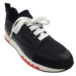 Hermes Black Trail Sneakers