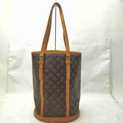 Louis Vuitton Monogram Marais Bucket GM Tote Bag 862051