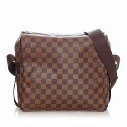 Vintage Authentic Louis Vuitton Brown Damier Ebene Naviglio France