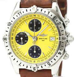 Polished BREITLING Chronomat Longitude Steel Automatic Watch A20048 BF521161