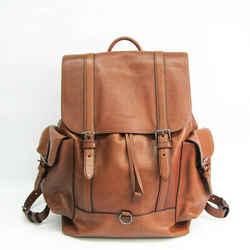 Coach Metropolitan Sports 72272 Men's Leather Backpack Brown BF528495