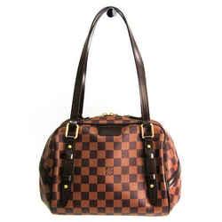 Louis Vuitton Damier Rivington PM N41157 Shoulder Bag Ebene BF517996