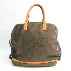 Louis Vuitton Damier Geant Aventurier M93060 Men's Boston Bag Earth BF531773
