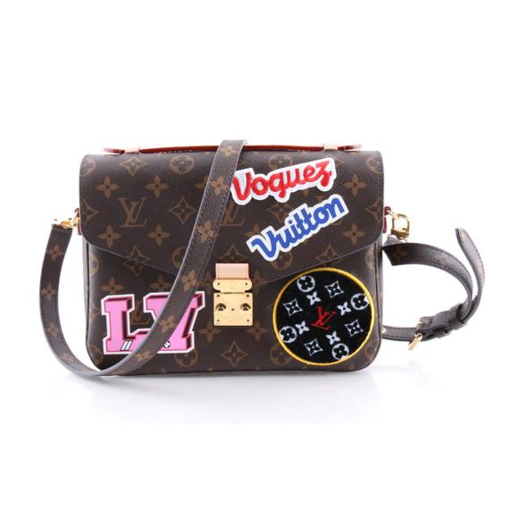 Louis Vuitton Monogram Patches Pochette Metis Messenger Bag