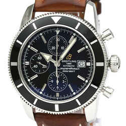 Polished BREITLING Super Ocean Heritage 46 Chronograph Watch A13320 BF534149