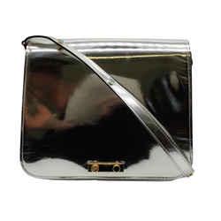 Marni Metallic Silver and Gold Shoulder Bag