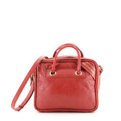 Blanket Square Bag Leather Small