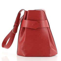 Vintage Sac d'Epaule Handbag Epi Leather PM