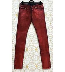 S/s 2011 Look #25 Versace Runway Laminated Jeans Size 48 - 32 (m)
