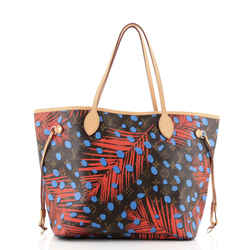 Neverfull NM Tote Limited Edition Monogram Jungle Dots MM