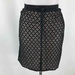 See By Chloe Black Lace Skirt 6